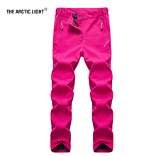 THE ARCTIC LIGHT Nylon Breathable Removable Waterproof Hiking Pants Women Quick Dry Trousers Outdoor Trekking Climbing