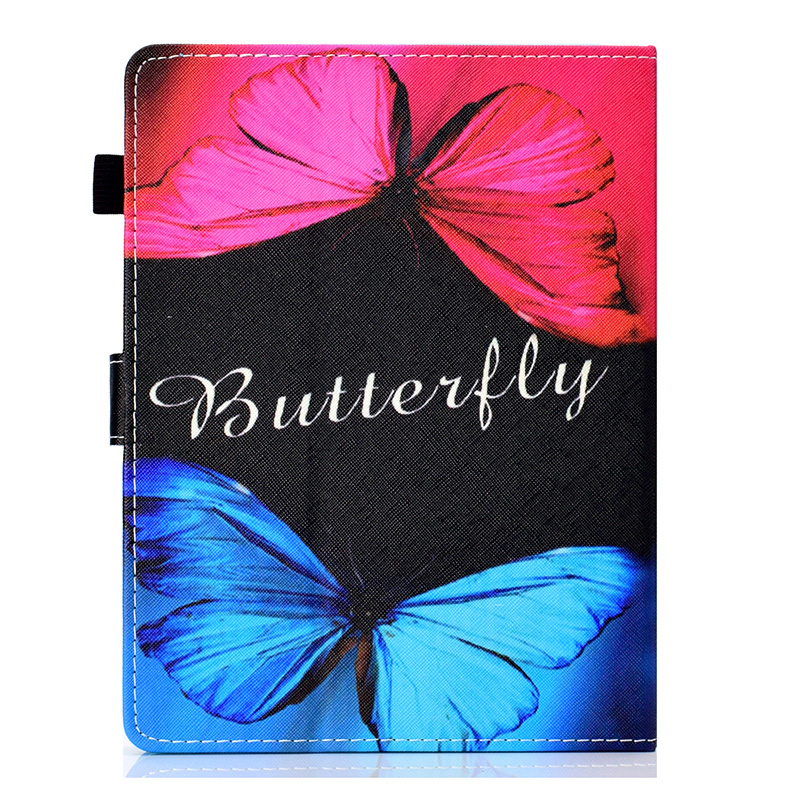 PU Leather Case Funda Potective Cover Skin for 2017 kindle fire 7 tablet with Alexa fire 7 display tablet 8GB Tablet Cover 7 inc