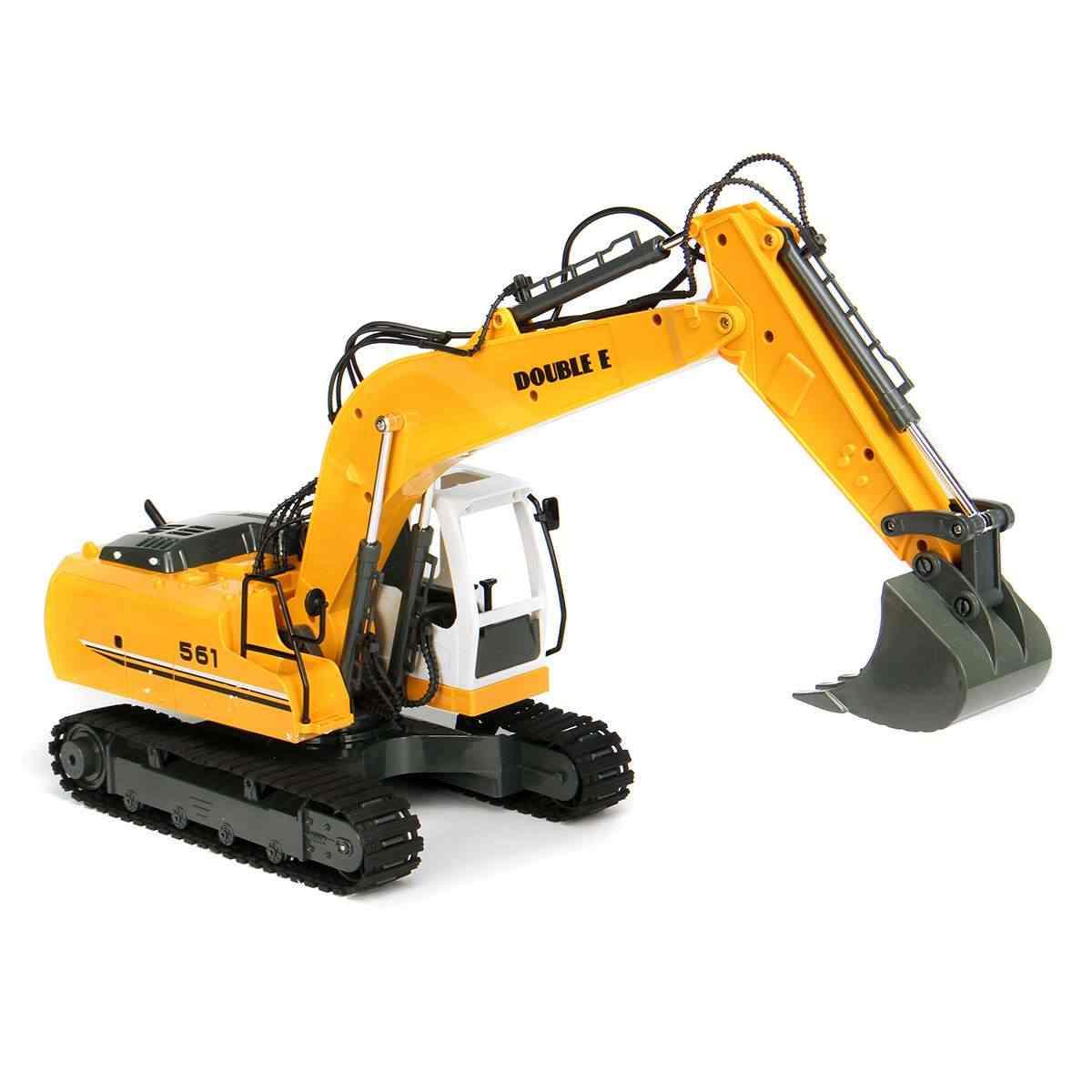 16 Channel 2.4G RC Excavator Mainan Anak Anak Laki-laki Truk RC Mainan Hadiah Elektronik RC Teknik Mobil Traktor Crawler penggali Model