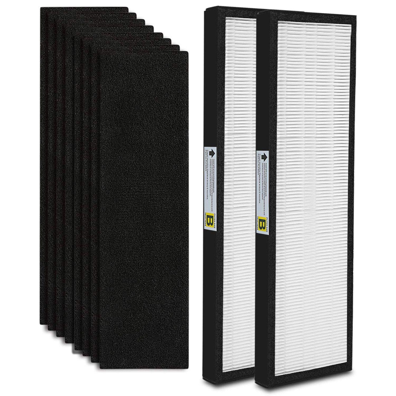 10-Pack FLT4825 настоящие hepа воздушные фильтры очиститель воздуха фильтр B Замена Совместимость для GermGuardian модели AC4825 AC4850PT AC4900CA PureGu