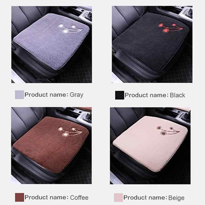 Автомобильные коврики зимние шерстяные подушки сиденья автомобиля теплые строго выбран качество Короткие Плюшевые без волос