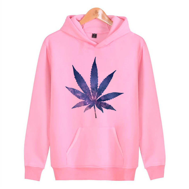 Weed Hoodies Sweatshirts Hoddies Male Hop Pullover Hip Harajuku Homme Men/women Streetwear J2514