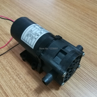 Electric self priming DC 24V Gear Water Pump high pressure