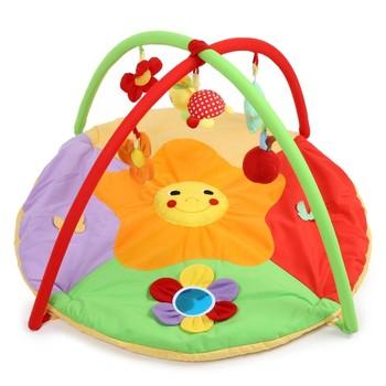 Cartoon Soft Baby Play Mat Kids Rug Floor Mat Boy Girl Carpet Game Mat with Frame Baby Activity Mat For Children Educational Toy