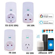 цена на Wifi Wireless Remote Control Socket Phone App Wifi Control Smart Timer Home Automation EU / US / UK /AU/ FR Plug Timer 35