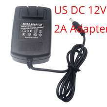 AC 100-240V To DC 12V 2A Power Supply Converter Adapter for Led Lights Strips US Plug