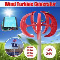 400 w 12 v/24 v с вертикальной осью 5 3 фазы переменного тока постоянного магнита синхронного генератора ветра