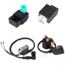 Lgnition Coil Relay CDI Rectifier For 50cc 70cc 90cc 110 cc Chinese ATV Quad 4 Wheeler atv seat 50cc 70cc 90cc 110cc quad saddle for chinese small dinosaur