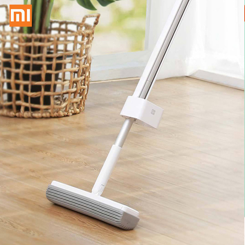 Xiaomi Mop Handheld 180-degree Rotating Standing Storage Space-saving Mop with Collodion Head from Xiaomi YoupinXiaomi Mop Handheld 180-degree Rotating Standing Storage Space-saving Mop with Collodion Head from Xiaomi Youpin