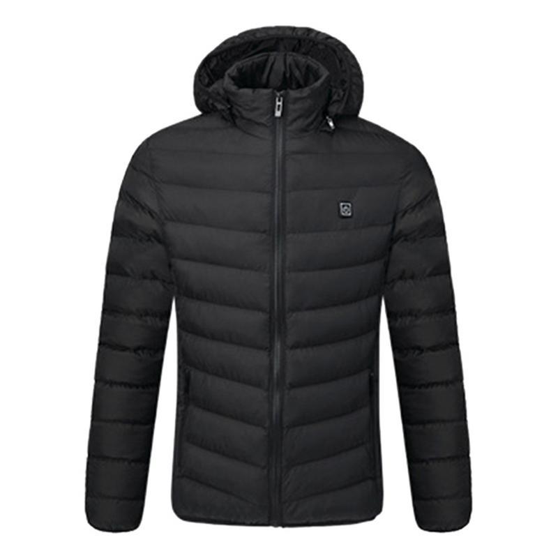 Hiver USB vestes chauffage électrique Intelligent un bouton thermique Ski alpinisme manteau femme vestes femmes hommes vêtements d'extérieur