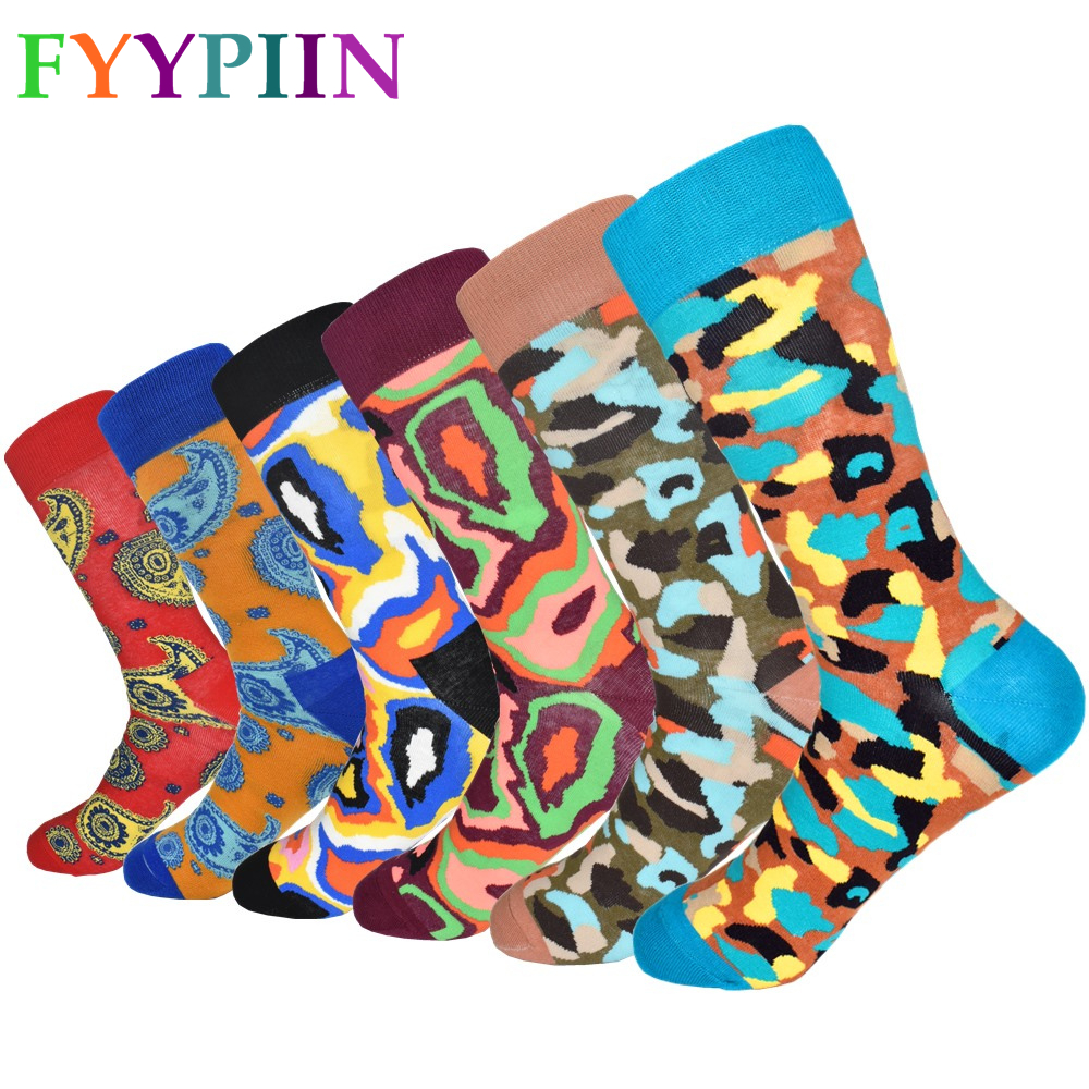 6592635cb00f0 Calcetines Hombre Sokken Mens Socks 6 Pairs Of Men's High Quality New  Standard Lengthened Fashion Color