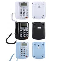 Telefono Fijo Dual port Corded Telephone With Caller ID Display With Speakerphone for Home Office telefono inalambrico