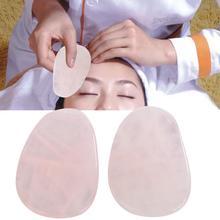 2pcs Natural Opal Thumb Shape Scrapping Plate Body Guasha Board Face M