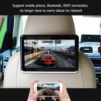 VODOOL 10.1in Car Headrest DVD Video Monitor Android 6.0 ARM A7 Quad Core WIFI Support TF Card U Disk Bluetooth HD Video Player