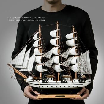 セーラーミニチュア木製海賊セーリングキャプテンシップモデル海洋装飾アクセサリー現代美術オフィス家の装飾のお土産