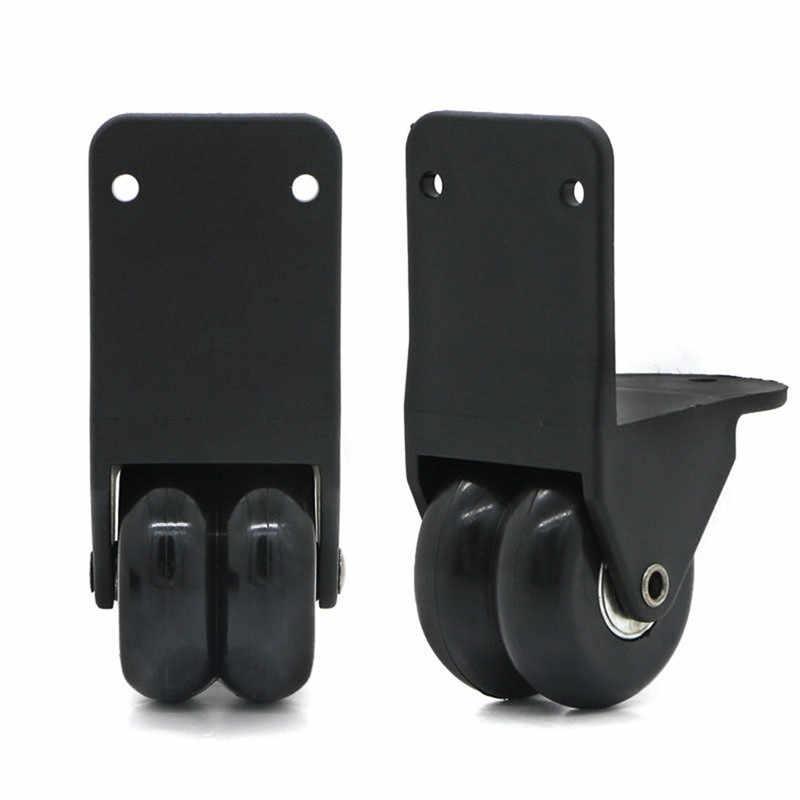 1 пара колеса для багажа для путешествий, сменные внешние колеса для чемодана, черные прочные колеса для ремонта, колеса для чемодана на колесиках для путешествий D026