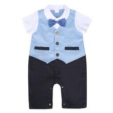 AmzBarley Baby Boys suits newborn infant clothing gentlemen formal boys Toddler Single Breasted Costume wedding