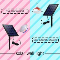 Solar Energy Light Split Solar Wall Lamp Hanging Lamp Outdoor Garden Lamp Red / Blue color