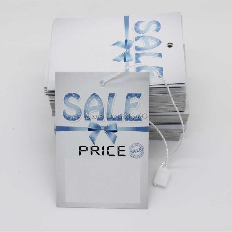 c30b050131c Бесплатная доставка Распродажа ценник пустая подвесная тег бирка для одежды  тег персонализированная одежда