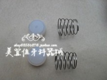 цена на 2pcs Dental materials air compressor pump oil-free mute air compressor one-way valve seal pad spring set