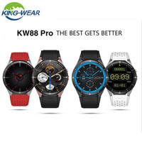 KingWear KW88 Pro 3G Smartwatch Phone Bluetooth 4.0 Android 7.0 1.39 inch Smart Watch 1GB RAM 16GB ROM Phone GPS Wearable Device