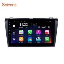 Seicane 9 дюймов Android 7,1/8,1 gps навигация автомобильное радио плеер для 2004-2009 Mazda 3 с Bluetooth WI-FI Зеркало Ссылка OBD2