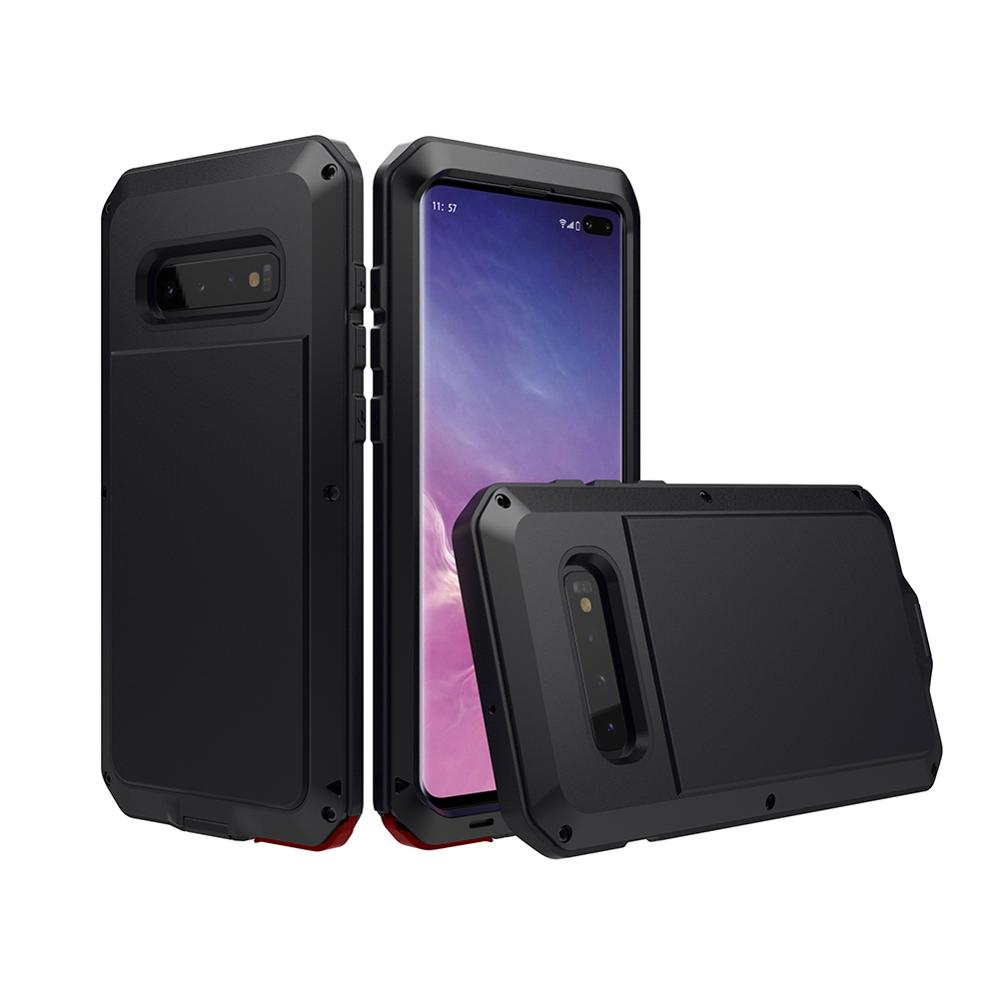 Luxury Alumilum Case for Samsung galaxy S10 PLUS/s10 lite/s9/S8/NOTE9/S7 edge FULL protection cover fundas shockproof hard COQUE