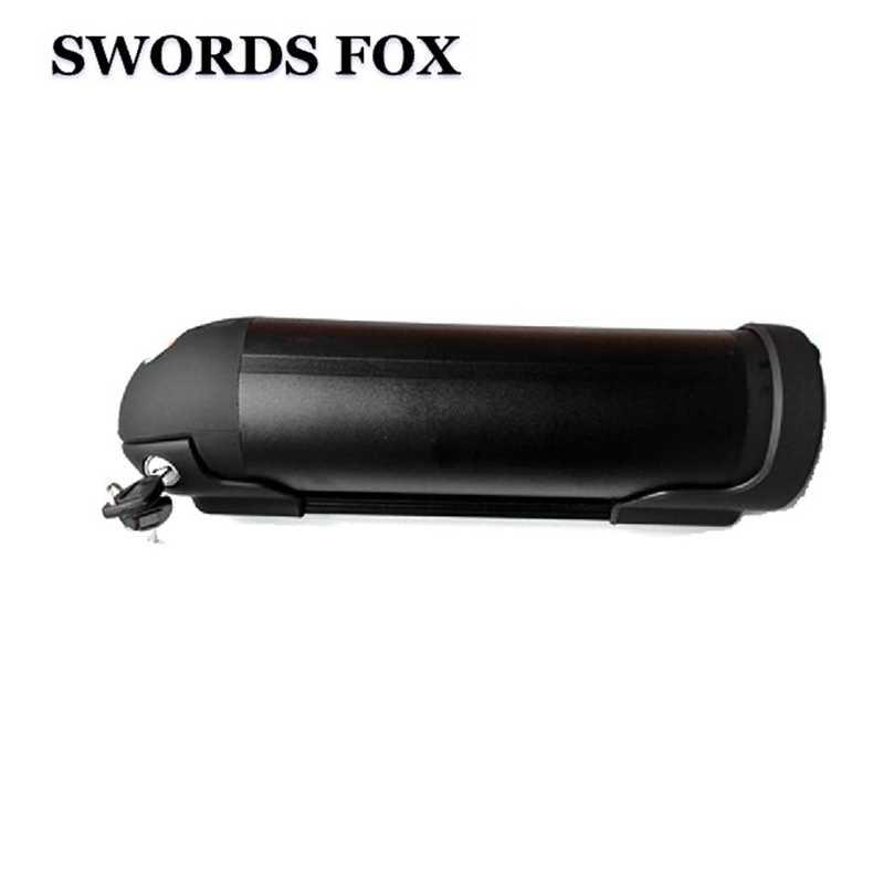 SWORDS FOX Great 48V 5 8 10 13ah to 17.5ah Black housing Li-ion Water Kettle  bottle Battery 500W 750W 1000W for Sanyo Samsung