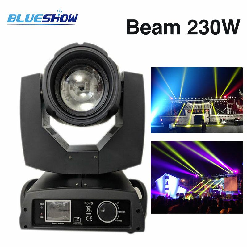 Power corn Beam 230W Lyre Sharpy 7R Moving Head Light 16 prisma LED Sharpy Os-ram vaiheessa yökerhojuhla Disco DJ Club