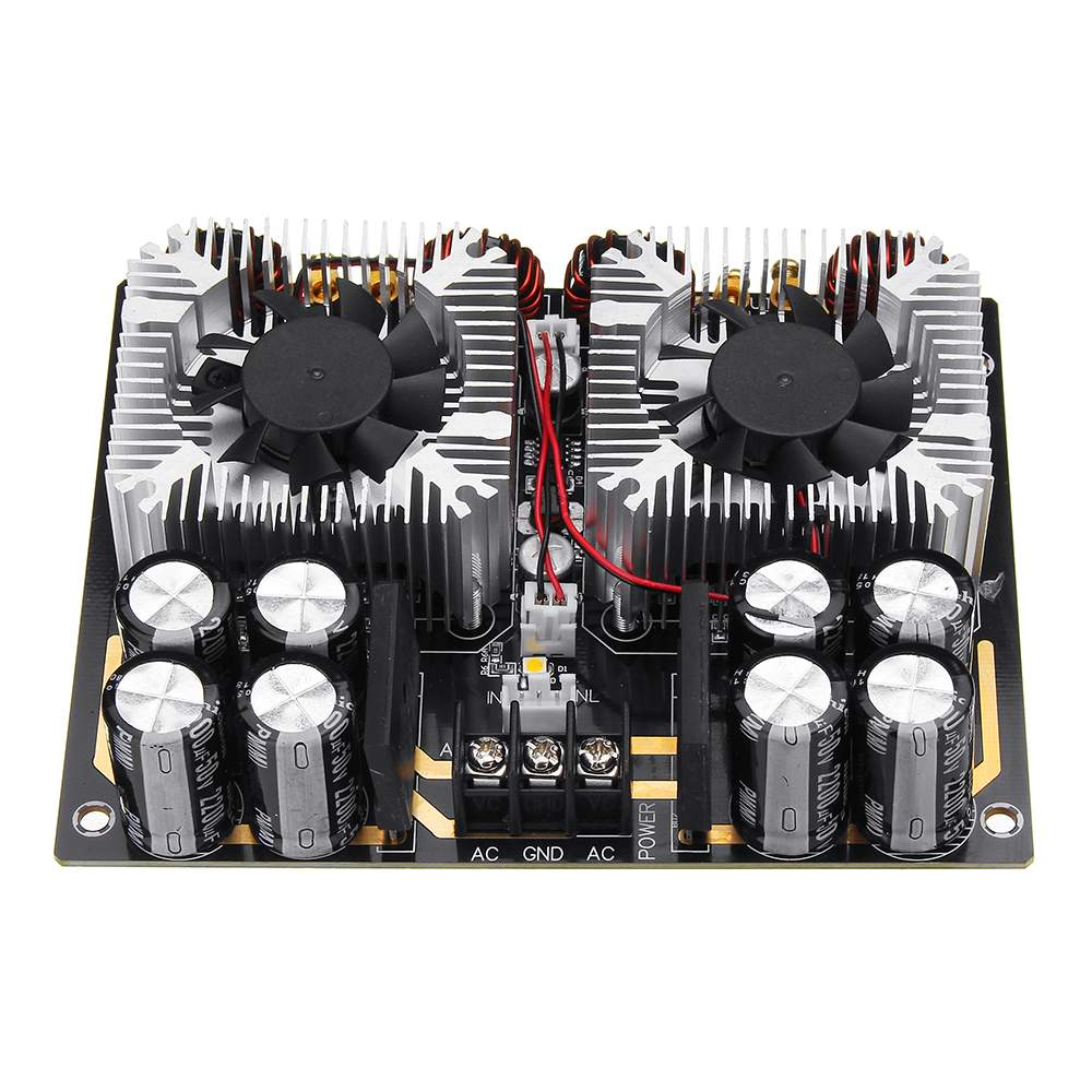 NEW 420W x 2 AC 24V TDA8954TH Dual-core Digital Audio Amplifier Board With CPU Fan Hifi Two Channel  AmpNEW 420W x 2 AC 24V TDA8954TH Dual-core Digital Audio Amplifier Board With CPU Fan Hifi Two Channel  Amp