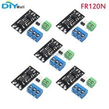 5pcs/lot DIYamll Isolation MOSFET MOS tube field effect transistor module instead of relay FR120N For arduino lr120n fr120n to 252