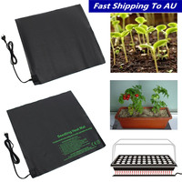 52x52cm110V/220V Seedling Heating Mat Waterproof Plant Seed Germination Propagation Clone Starter Pad Garden Supplies EU US Plug