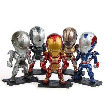 5 Man Muñeca Regalo Escritorio Cm Vengadores Coche Los Héroe Iron De Juguete 6 Figura Setlote Decorativa Cumpleaños Ironman Modelo 10 EWH2D9I