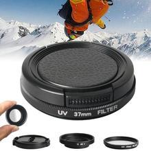 UV Lens Filter Protective Frame Housing Lens Cover for Xiaomi Yi 4K Yi Lite