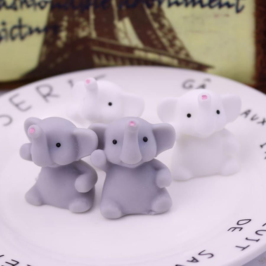 2019 nouveau 1 pièces mignon Mochi Squishy éléphant serrer guérison amusant enfants Kawaii jouet anti-Stress décor