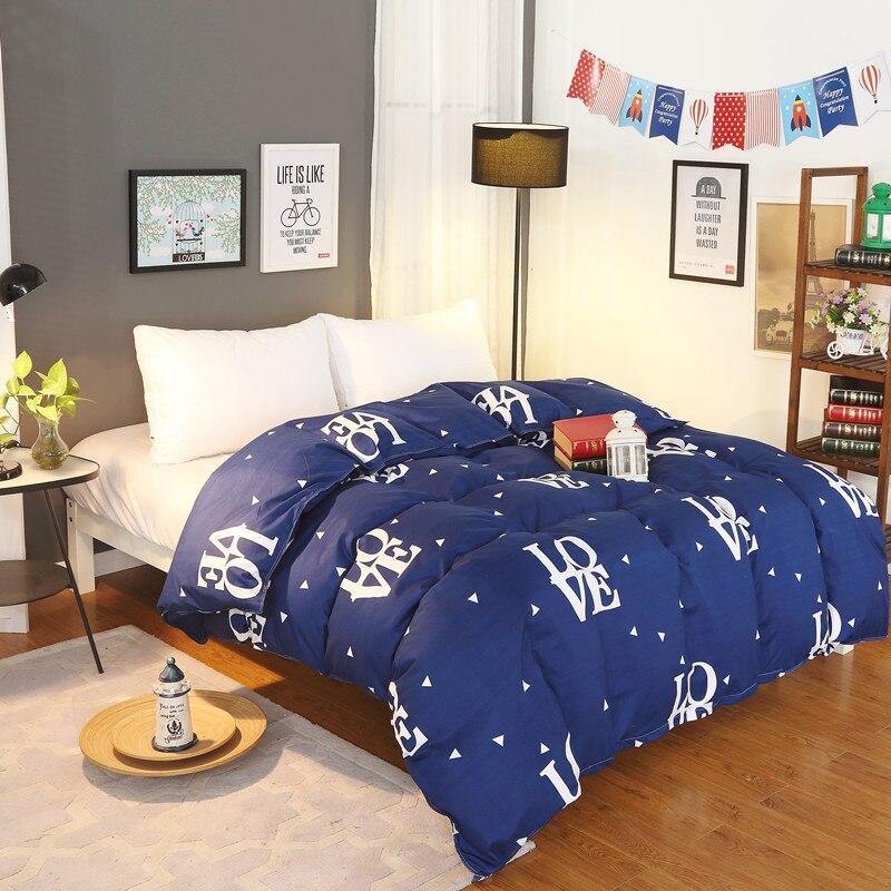 New Design 2018 1Pcs Duvet Cover Plaid Stripes Quilt Cover Skin Care Cotton Bedclothes 150x200cm/180x220cm/200x230cm Size 15