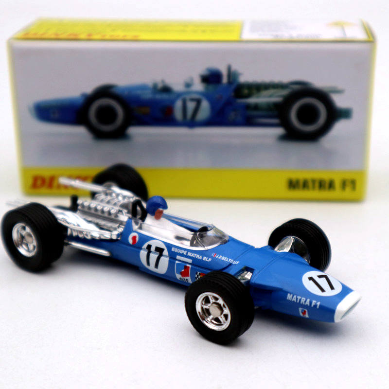 Atlas 1:43 Dinky Toys 1417 MATRA F1 DUNLOP Alloy Car #17 Diecast Models Limited Edition Collection