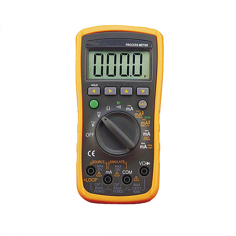 Brand New VC77 Digital Multimeter 2 In 1 4 20MA Signal Output Multimeter Process Signal Source