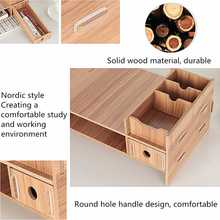 Multi-function Wood Monitor Stand with drawer
