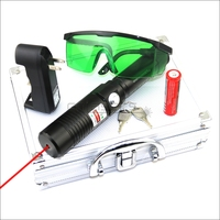 CNILasers RX1 Adjustable Focus 650nm Red Laser Pointer Laser Beam High Power Lazer Torch Laser Pen Camping Signal Lamp Hunting