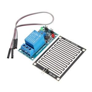 12 v raindrop controlador módulo de relé foliar umidade waterless interruptor sensor chuva para arduino