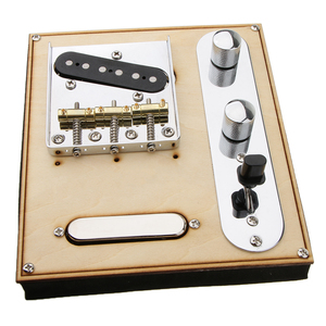 Image 5 - 85.5x77x10.5mm 기타 넥 픽업 w/브리지 라인 플레이트 세트 텔레 캐스터 일렉트릭 기타 제공 완벽한 톤