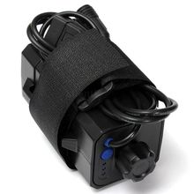 Nueva caja de almacenamiento de batería impermeable 4x18650 para luz LED de bicicleta