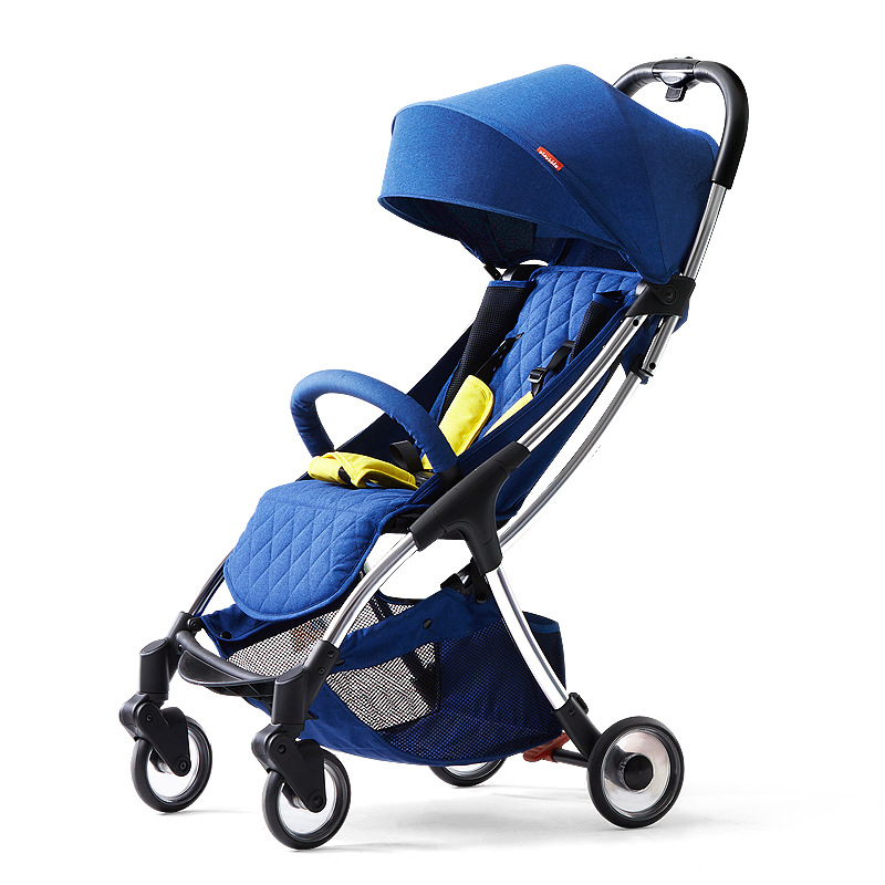 Baby stroller ultra light can sit and fold portable pocket umbrella cart