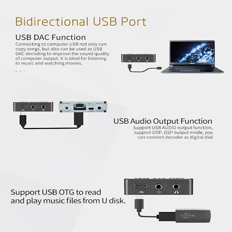 xDuoo X3II AK4490 DSD128 Bluetooth USB DAC HiFi Portable Lossless Music Player