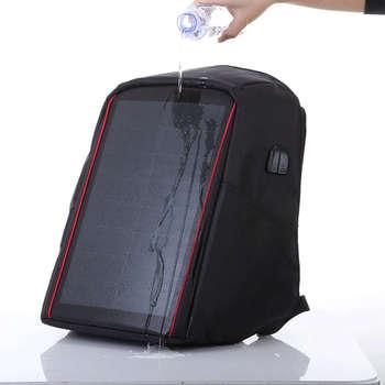 12W Flexible Solar Panel Power Backpack 5