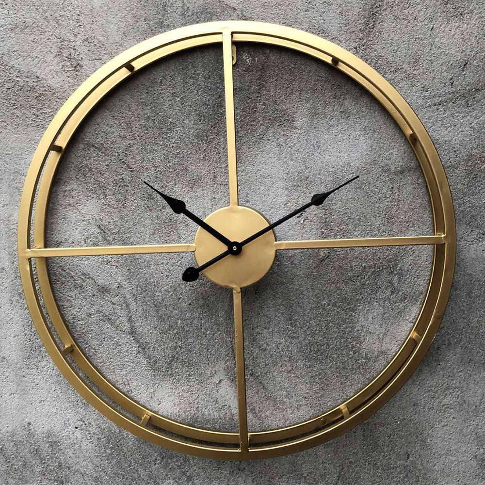 Large Wall Clock Decorative Hanging Watch For Home Office Brief Wall Digital Clock Simple Watch Smooth Surface Home Decor