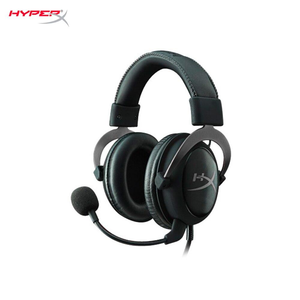 PC Computer Gaming headset HyperX Cloud II Gun Metal cyber sports цена 2017