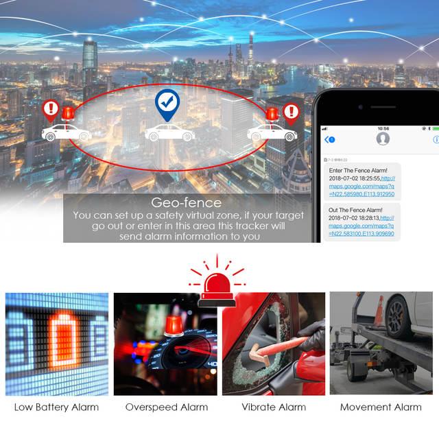TK Star 3G 4G GPS Car Tracker TKSTAR TK905 5000mAh Long Battery Life  Waterproof Magnet GSM GPS LBS Tracking Software APP