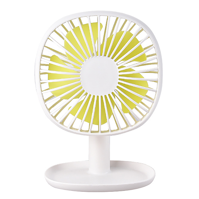 2019 New Style Rechargeable Small Fan Easy To Carry Desktop Small Fan Chassis Can Hold Things Small Air Conditioning Appliances